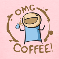 Design ~ OMG Coffee Women's Standard Tee