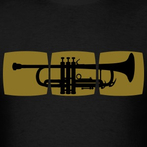 Trumpet Musician T-shirt for trumpeter / jazz trumpet & other varieties T-Shirts - Men's T-Shirt