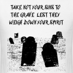 sins_weigh_spirit_remix_reverse T-Shirts - Men's T-Shirt