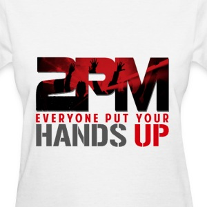 2PM HANDS UP (1) Women's T-Shirts - Women's T-Shirt