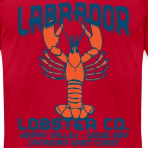 Labrador Lobster T-Shirts - Men's T-Shirt by American Apparel