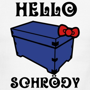 Hello Schrödy, SChrödinger's Cat T-Shirts - Men's Ringer T-Shirt