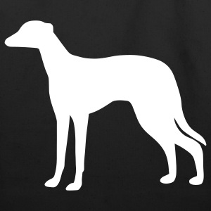 Greyhound Dog Bags  - Eco-Friendly Cotton Tote