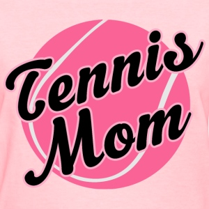 Tennis Mom Pink Ball Sports Women's T-Shirts - Women's T-Shirt
