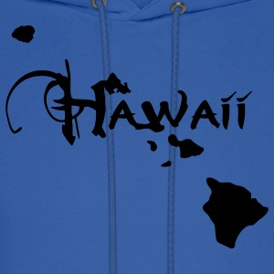 Hawaii, the surfers paradise island Ukulelisten. Hoodies - Men's Hoodie