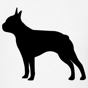 Boston Terrier Dog T-Shirts - Men's T-Shirt