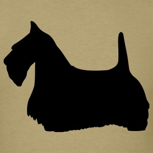 Scottish Terrier - Scottie Dog T-Shirts - Men's T-Shirt