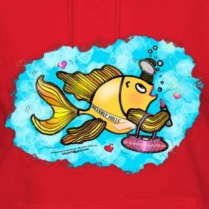 Beverly Hills housewife fish T-Shirt - Women's Hoodie