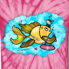 Beverly Hills housewife fish T-Shirt