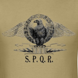 SPQR Eagle Emblem Shirt - Men's T-Shirt