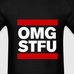 OMG STFU (white/color) - Men's T-Shirt
