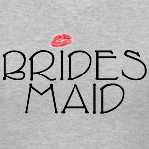 Bridesmaid Smooch Women's T-Shirts - Women's V-Neck T-Shirt