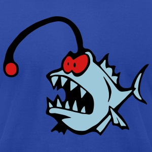 Lantern fish, angler fish 3  T-Shirts - Men's T-Shirt by American Apparel