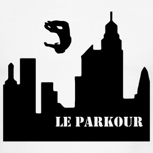 Le Parkour, Traceur, paving the way 1 T-Shirts - Men's Ringer T-Shirt