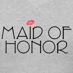 Maid of Honor Smooch Women's T-Shirts
