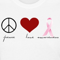 Peace, Love, Awareness Women's T-Shirts