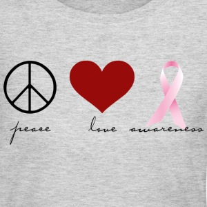 Peace, Love, Awareness Long Sleeve Shirts - Women's Long Sleeve Jersey T-Shirt