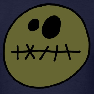 zombie smiley T-Shirts - Men's T-Shirt