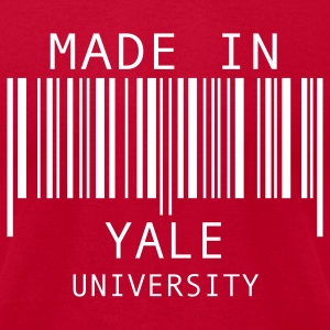 Made in Yale University T-Shirts - Men's T-Shirt by American Apparel