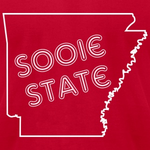 Men's Sooie State Tee - Men's T-Shirt by American Apparel