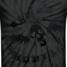 Demon Hunter Winged Skull Black T-Shirts