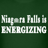 Design ~ Niagara Falls is Energizing Shirt by New York Old School