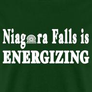 Design ~ Niagara Falls is Energizing Shirt by New York Old School