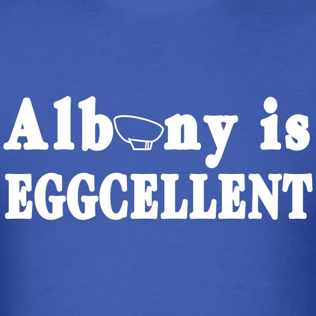 Albany is Eggcellent Shirt by New York Old School