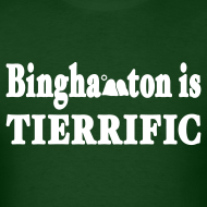 Design ~ Binghamton is Tierrific Shirt by New York Old School