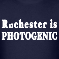 Design ~ Rochester is Photogenic Shirt by New York Old School