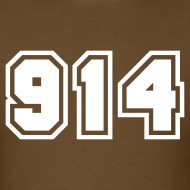 Design ~ Area Code 914 Shirt by New York Old School
