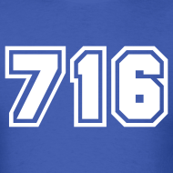 Design ~ Area Code 716 Shirt by New York Old School