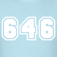 Design ~ Area Code 646 Shirt by New York Old School