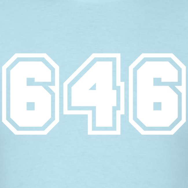 Area Code 646 Shirt by New York Old School