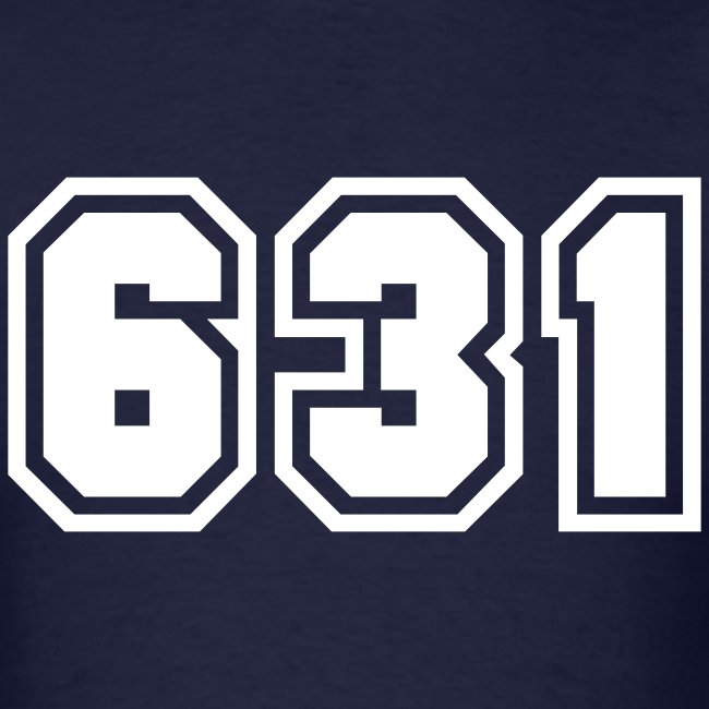 Area Code 631 Shirt by New York Old School