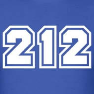 Design ~ Area Code 212 Shirt by New York Old School