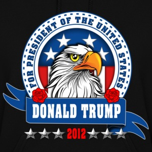 Donald Trump for president 2012 Eagle Head Hoodies - Women's Hoodie
