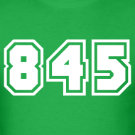 Design ~ Area Code 845 Shirt by New York Old School