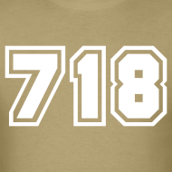 Design ~ Area Code 718 Shirt by New York Old School