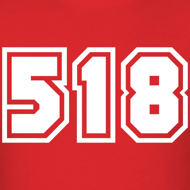 Area Code 518 Shirt by New York Old School