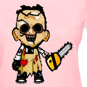 chibi leatherface women - Women's T-Shirt