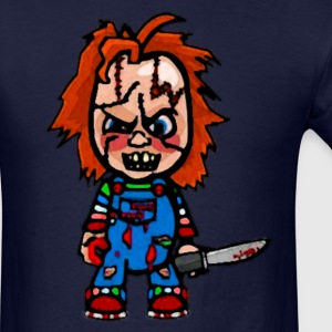 chibi chucky - Men's T-Shirt