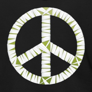 Mummy Peace Sign Men's Zipper Hoodie - Men's Zip Hoodie