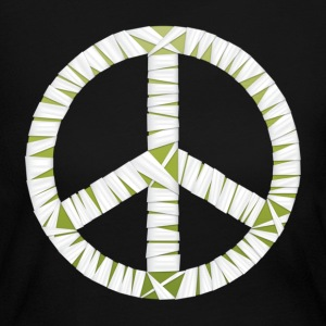 Mummy Peace Sign Women's Long Sleeve Jersey T-Shirt - Women's Long Sleeve Jersey T-Shirt