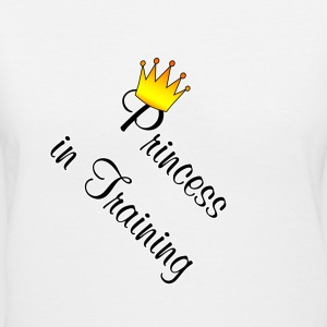 I Love My Princess In Training Women's T-Shirts - Women's V-Neck T-Shirt