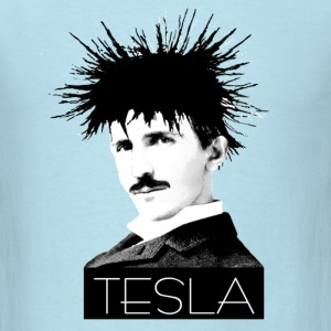 Icon: Tesla - Men's T-Shirt