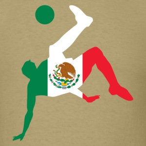 Mexico soccer USA T-Shirts - Men's T-Shirt