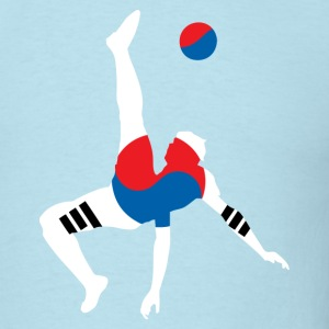 South Korea soccer USA T-Shirts - Men's T-Shirt
