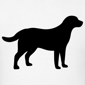 Labrador Retriever Dog T-Shirts - Men's T-Shirt