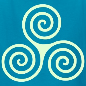 TRIPLE SPIRAL LEFT | Children's shirt - Kids' T-Shirt
